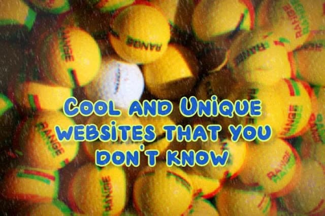13 unique websites that are unknown to you