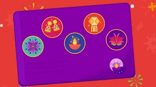 How to get Rangoli and Flower stamp easily on google pay 2019