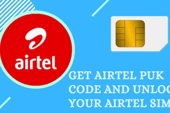 How To Get Airtel PUK Code And Unblock Your Airtel SIM Card Free ...