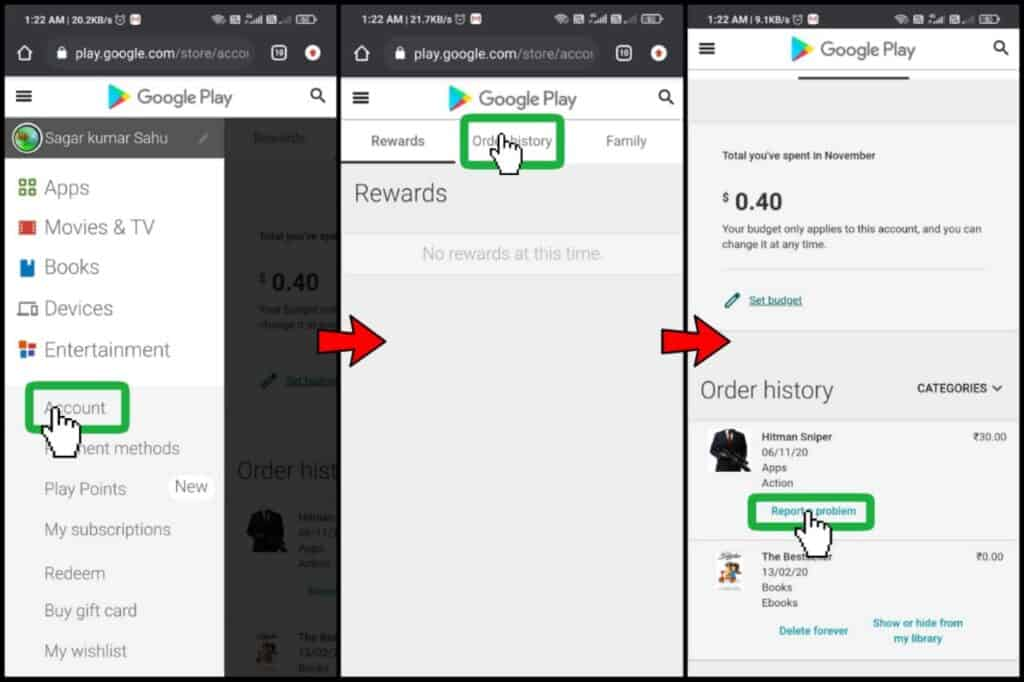 Google Play Store Trick to collect Google Pay Go India Tickets And kilometers