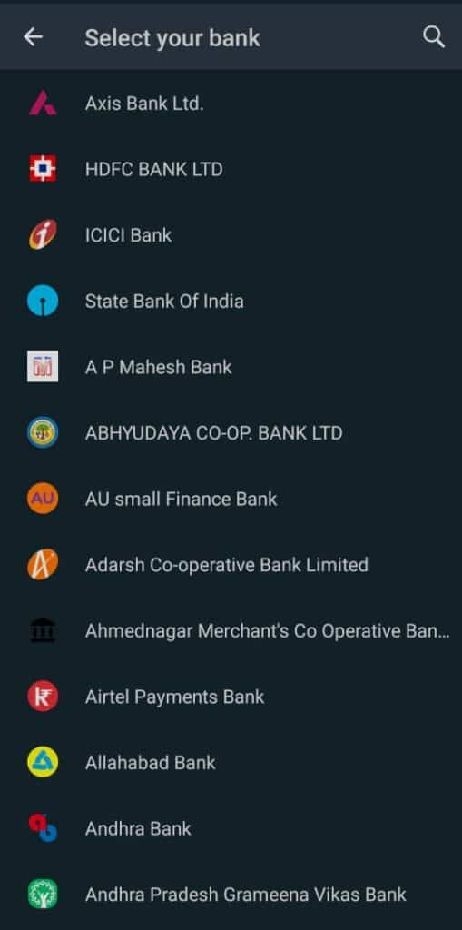 How to add payment options in WhatsApp?