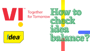 How to check idea balance?| Idea balance check | 5+ ways