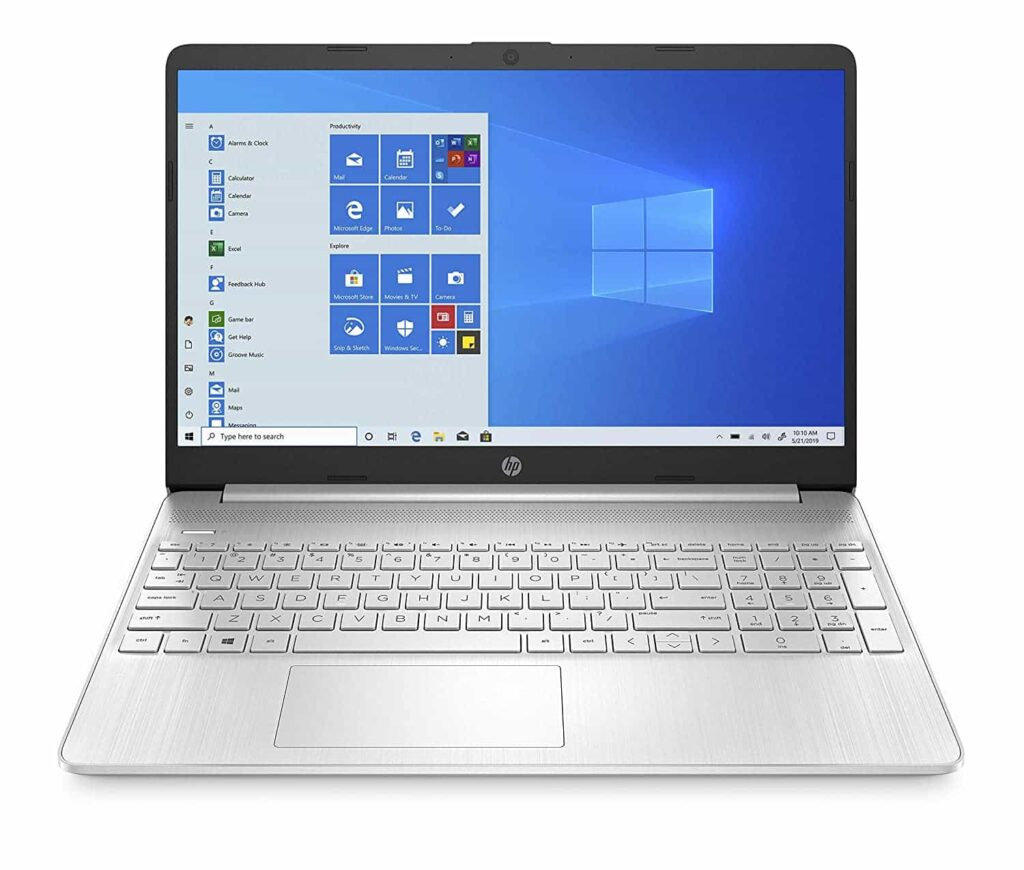HP thin and light lapotop