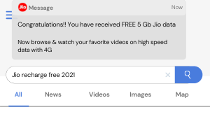 JIO Free recharge tricks 2021